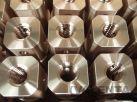 bronzové matice s trapézovým závitom podľa výkresu