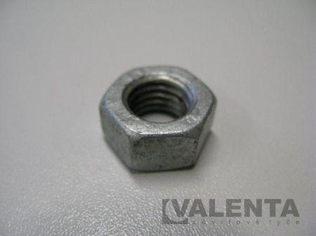 Šesťhranná žiarový zinok (DIN 934)