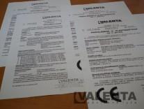 Certifikáty a vyhlásenia